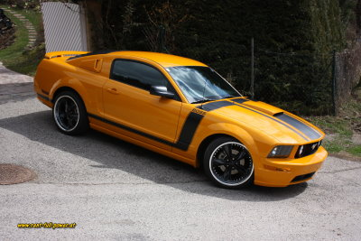 Ford Mustang GT BOSS Muscle Cars