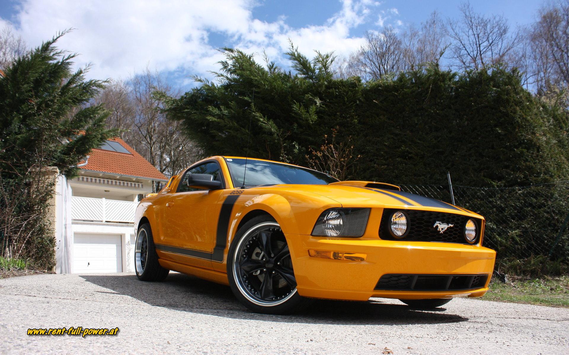 Ford Mustang Gt Boss Wallpaper Vermietung Von Us Muscle Cars
