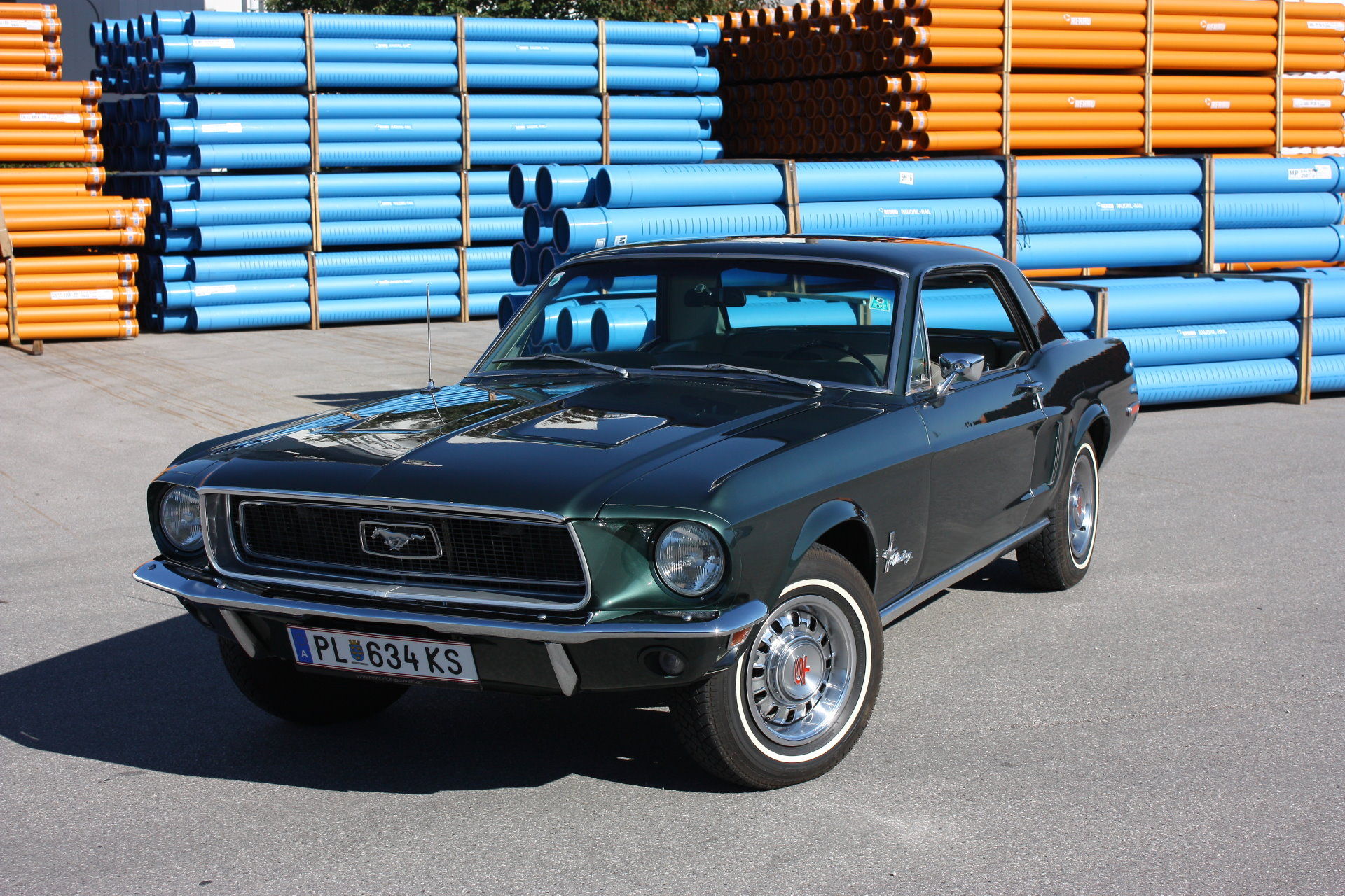 ford mustang bj.68 oldtimer classics