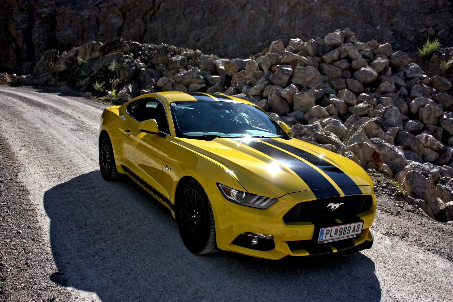 Ford Mustang GT 5.0 HD Wallpaper