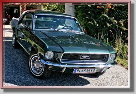 Classics - Ford Mustang Bj 1968 Oldtimer ohne Begleitperson selbst fahren